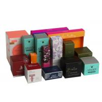 Buy cheap Folding Biodegradable Cosmetic Gift Boxes Packaging Gifts Eco - Friendly For Women product
