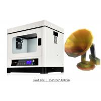 Buy cheap Metal Casting DIY High Resolution 3D Printer Desktop with Industrial Linear Guideway product