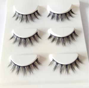 Buy cheap Wholesale false eyelashes private label mink eyelashes 3D mink eyelashes product