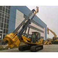 Quality 1.3M Max Diameter Bored Pile Rig 45m Max Drilling Depth KR125A Type Bored Hole Piles Machine for sale