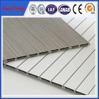Buy cheap 6000 series aluminium louvre extrusion factory, roller shutter doors for furniture product