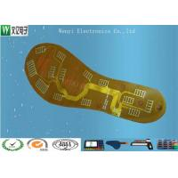 Buy cheap 0.5 OZ Sink Gold 1mm Pitch FPC Flexible Printed Circuit , Foot Massage Use Flex Circuit product