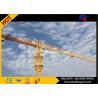 Buy cheap 45M Freestanding Height 8T Flat Head Topless Tower Crane Jib Length 55M product