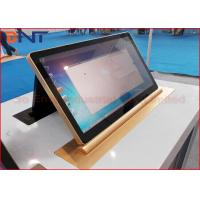 Buy cheap 45 Degree Tilting Conference LCD Monitor Lift With 15.6 Inch Retractable Screen product