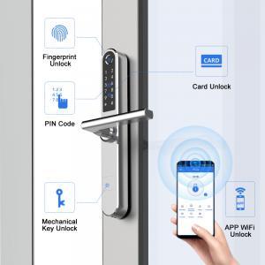 Buy cheap Smart advanced technology Aluminum Sliding Door Lock from wholesalers