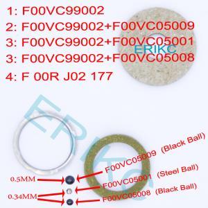 Buy cheap Common rail fuel injector repair kits F00RJ02177 and ERIKC kit repair , universal bosch fuel injector repair kits product