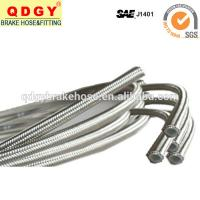 Buy cheap PU cover stainless steel braided flexible brake hose line product