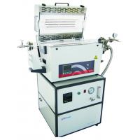 Buy cheap High Purity Silica Tube Laboratory Tube Furnace With Adjustable Flange Support from wholesalers