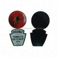 Buy cheap Fridge magnets, made of paper and soft rubber, non-toxic product