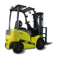 Compact Sit Down Forklift In Warehouse / Battery Operated Lift Trucks