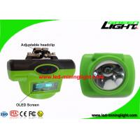 Buy cheap 13000Lux 6.8Ah Cordless Rechargeable Mining Light with USB / Cradle Charger product