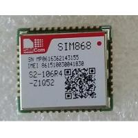 Buy cheap SIMCom Wireless GSM/GPRS+GPS/GNSS Module SIM868 instead of SIM908 and SIM808 from wholesalers
