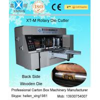Buy cheap Corrugated Carton Packaging Machine Chain Feeder Rotary Roller Die-Cutting Machine from wholesalers