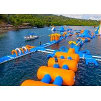 Buy cheap Large Inflatable Water Obstacle , Aqua Blow Up Water Park CE Approved product