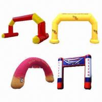 Buy cheap Inflatable Arch, Customized Designs are Accepted product