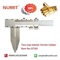 Buy cheap Large 0-2500mm Long Jaw Vernier Caliper With Steel Sliding Pin Handles product