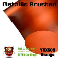 Buy cheap Matte Metallic Brushed Vinyl Wrapping Film - Matte Metallic Brushed Orange product