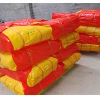 Buy cheap Red/Yellow Recycled HDPE Tarpaulin Sheet For Cover With Any Size As Request product