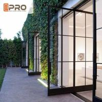 Buy cheap Modern Tempered Glass Pivot Entry Door Thickness 1.4 / 1.6 /1 .8 / 2.0mm product