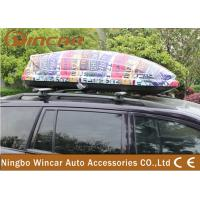 Buy cheap Universal SUV / CRV Car Roof Boxes with ABS Plastic Colorful Printing product