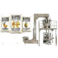 Buy cheap Date Food Packing Machine , Automatic Weighing And Bagging Machine For Nuts from wholesalers