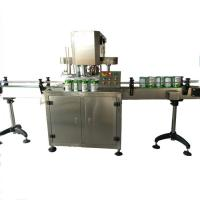 China Full automatic Round metal tin can can capping machine on sale