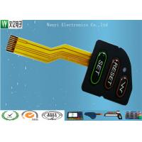 Buy cheap PET Overlay FPC Membrane Switch 2.54 mm Pitch Hi - Glossy Epoxy 1.8mm Thickness product
