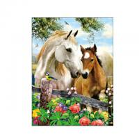Buy cheap Running Black Horses Image 3D Lenticular Pictures For Advertisement product