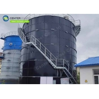 Buy cheap 0.35mm Coating 18000m3 Bolted Steel Liquid Storage Tanks product