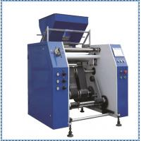 Buy cheap 450mm Width Cling Film Making Machine / Plastic Film Slitting Machine product