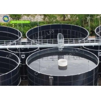 Buy cheap Enamel Coating 3mm Water Storage Tanks For Boiler Feedwater Storage product