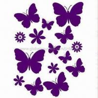 Buy cheap Wall Decoration Stickers, Made of PVC and Vinyl, Available in Various Sizes, Eco-friendly product