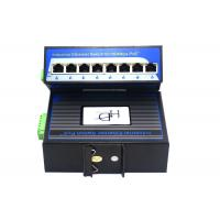 Quality 10/100Mbps Unmanaged Poe Switch , 8 Port Ethernet Switch 8.8Gbps Capacity for sale