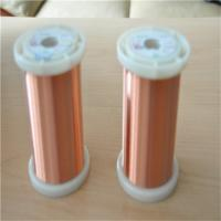 Buy cheap UEW motor windings using top quality enameled round copper wire product