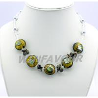 Buy cheap Colored glazed magnetic health necklace product