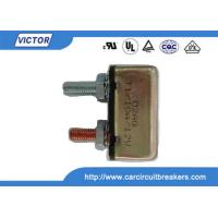 Quality Low Voltage 2V DC 50A Car Circuit Breaker / Single Pole Circuit Breaker for sale