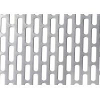 Buy cheap SS 304 Perforated Metal Screen Panels Sheet Hole Punched Stainless Steel Plate product
