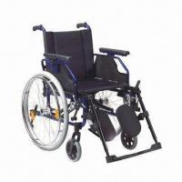Buy cheap Wheelchair with Aluminum Chair Frame, OEM Orders are Welcome product