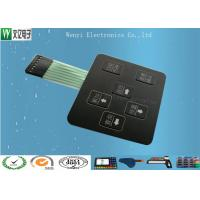 Buy cheap 3D Square Keys Embossing Membrane Switch With ChangJiang Brand Female 2.54, 4 Pin Connectors product