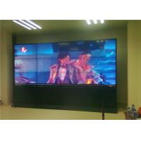 Large Image Single / Multi Touch Indoor LED Video Wall Background In Station