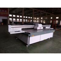 China 2513 UV Flatbed Printer with RICOH GEN5/GH2220/KM1024i heads heads for glass,ceramics,PVC board,wood on sale