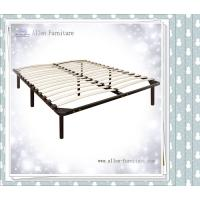 Buy cheap Wooden Slat Bed with Headboard Footboard Queen product