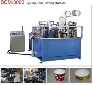 Buy cheap 19KW 80pcs/min Paper Bowl Machine Servo Control Large Dimension Ultrasonic Sealing from wholesalers
