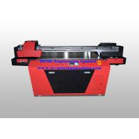 Buy cheap Industrial UV Glass / Wood Printing Machine With Double Print Head product