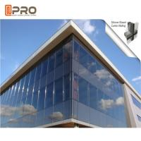 Buy cheap Heat Insulation Thermal Break Aluminum Curtain Wall Double Glazed product