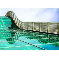Quality Skylight 5mm two layers laminated toughened glass , Processed Solid Bent Laminated Glass for sale