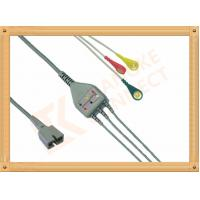 Buy cheap Ecg Patient MEK Cable 9 Pin One Piece 3 Leads for MEK MP1000  MP600  MP500 product
