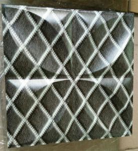 Buy cheap Waterproof PVC 3D wall panels Laminated wall Sheet 1.0 to 2.0 mm Thcikness product