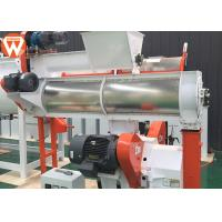 Buy cheap Turkey Animal Feed Pellet Machine Broiler Pigeon 1 Ton Per Hour With Crumbler Machine product