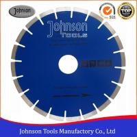 Quality Fast Speed Diamond Stone Cutting Blades With Blue / Clear Color for sale